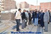 محافظ المنيا يتفقد الإجراءات التنفيذية لمشروع عشش محفوظ