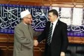 """""""مفتي الجمهورية"""" يستقبل ممثل كوسوفا في مصر لبحث تعزيز التعاون الديني"""