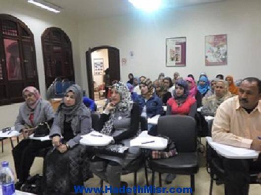احتفالية بيوم المرأة المصرية  بمقر فرع المجلس القومى للمرأة بالاقصر .