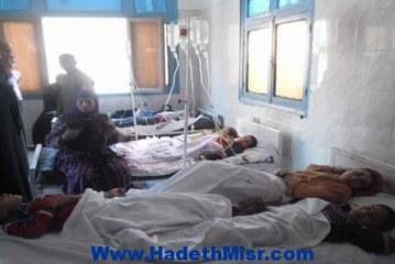 محافظ المنيا يكلف وكيلا وزارتى التربية و التعليم والصحة بمتابعة حالة طلاب مدرسة الديابة حتى خروجهم من المستشفى.