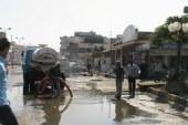 رئيس شركة مياه سوهاج يتفقد القرى المتضررة من مياه الأمطار بقرى ساقلتة وطهطا
