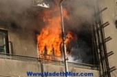 حريق فى شقه فى المنيا يكشف عن خليه ارهابيه كانت تجهز لعمليات ارهابيه