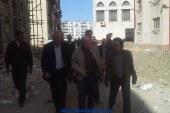 محافظ بورسعيد يشكل لجنتين للمرور علي مداخل عمارات زمزم والحرية