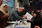 بالصور محافظ بورسعيد يشهد تكريم القومي للمراة للامهات المثاليات