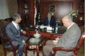 """""""وزير الداخلية يلتقى بأمين عام المجلس القومى لشئون الإعاقة """""""