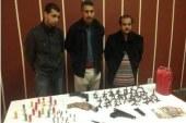 بالصور ….ضبط خلية إرهابية بالإسكندرية