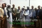 بالصور .. عبد الله و أبو حديد يتفقدان قاعدة الجراد بمدينة الشلاتين