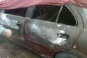 مجهولان يحرقا سيارة شقيق قيادي اخواني بالفيوم