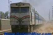 اصطدام قطار بأحد الأشخاص  بجوار مزلقان السكة الحديد بأبوتيج
