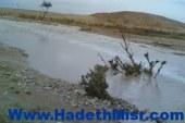 السيول تجتاح قرية العتمانية بمركز البدارى.. ومحافظ أسيوط يتجه للمكان
