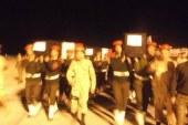 وصول أربعة جثامين لشهداء الحادث الإرهابى بمطار أسيوط اليوم