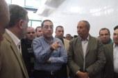بالصور … وزير الإسكان و محافظ البحر الأحمر يفتتحان محطة الصرف الصحى الرئيسية بالقصير