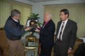 سكرتير عام سوهاج يستقبل  رئيس الكنيسة الانجيلية بمصر