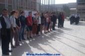 تفعيلاً لاتفاقية بين الجامعتين وفد طلابي ألماني فى زيارة لجامعة أسيوط