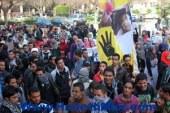 الإخوان يحاصرون المبنى الإدارى بجامعة أسيوط