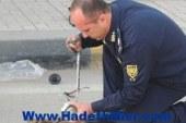 قنبلة كمين مسطرد تم تفجيرها عن بعد عن طريق خبراء المفرقعات