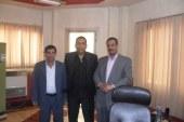 توعد رئيس مجلس ومدينة منشاه القناطر بحل العديد من المشاكل التي تقدمت بها منظمة مصر الحرة لحقوق الانسان بالجيزة