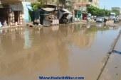 بالصور .. مياه السيول تعوق حركة محافظة سوهاج …والمسؤلين سيتم شفطها