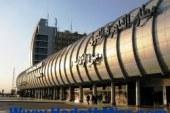 هبوط 4 أعمدة بالصالة الموسمية بمطار القاهرة