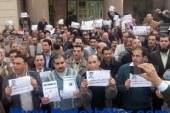 اعتصام أعضاء هيئة التدريس بجامعة بورسعيد للمطالبة بإقالة رئيس الجامعة