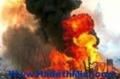 انفجار عبوة ناسفة أمام كلية البنات