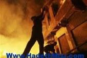 نشوب حريق بمنزل أبوتيج