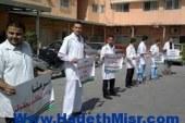للمطالبة بأهم الحقوق قام الاطباء وموظفى المستشفيات بأضراب كامل باسيوط