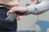 ضبط فتاة لشروعها فى سرقة هاتف محمول بالغردقة