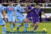 فيورينتينا يفوز على نابولي ويرتقي للمربع الذهبي في الدوري الإيطالي