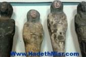 أمن الجيزة يحبط محاولة تجار آثار لتهريب 3 تماثيل  قبطية وفرعونية بالصف