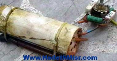 إصابة عامل فى انفجار قنبلة مونة أمام كلية البنات بمصر الجديدة