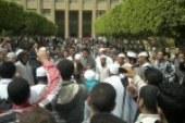 """طلاب الإخوان ينظمون مسيرات بجامعة حلوان تحت مسمى """"متخلهمش يكسروك"""""""