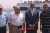 محافظ البحر الاحمر وزير النقل بسفاجا