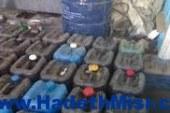 ضبط 10 طن بنزين مدعم و40 اسطوانة قبل بيعها في السوق السوداء بسوهاج