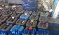 ضبط 45 طن  مواد بترولية مدعمة و77 ألف و400 كيلو لحوم فاسدة بأسيوط