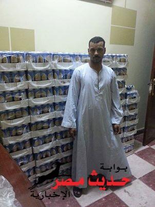 بالصورة ..ضبط شخص وبحوزته 1420 زجاجة بيرة بقصد الاتجار في سوهاج