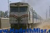 تشغيل حركة قطارات الصعيد جزئيا لحين رفع عربات قطار بضائع البدرشين