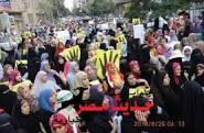 عاجل… إنطلاق مسيرة نسائية لأنصار المعزول ..والأمن يتصدى لها بسوهاج