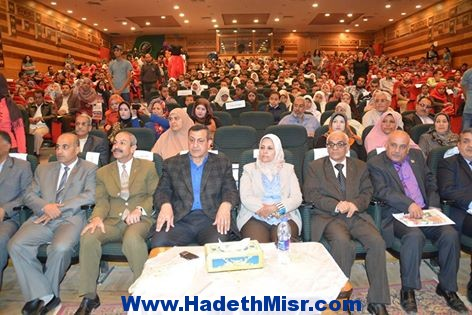 التربية والتعليم بالمنيا تحتفل بيوم اليتيم على مسرح المحافظة.