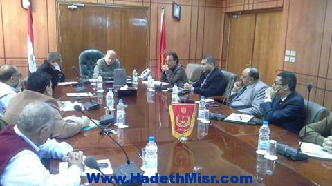بروتوكول بين محافظة بورسعيد وموسسسة مصر الخير لعقد دورات تدريبية