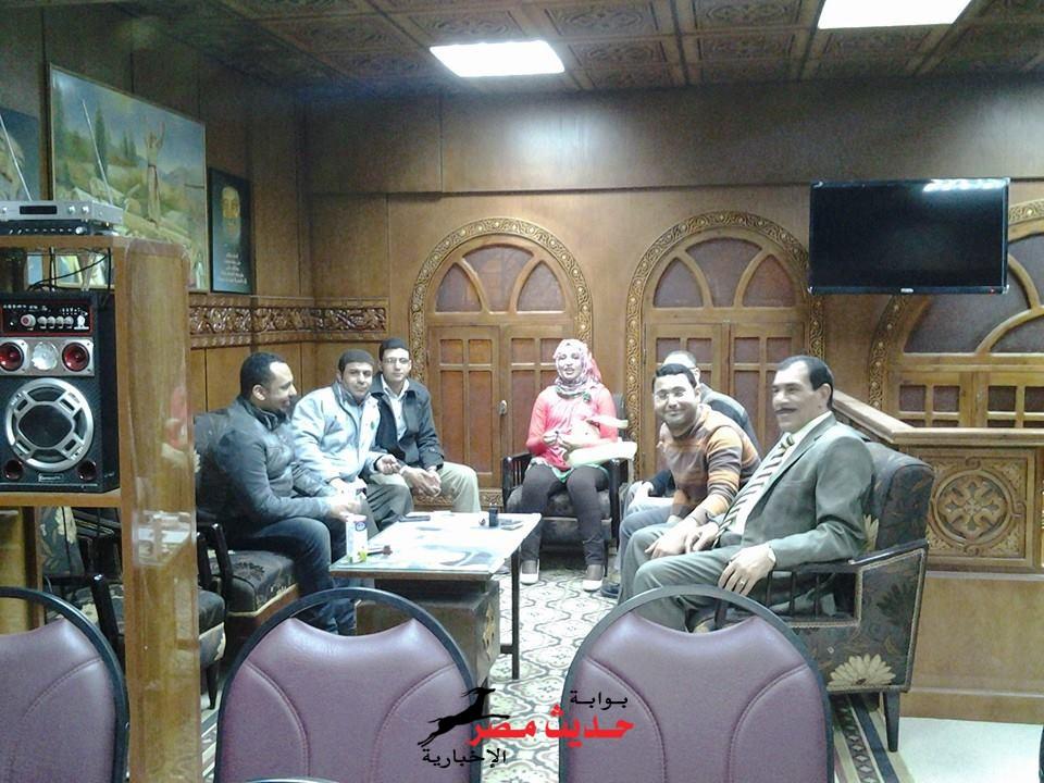 منظمه مصر الحره لحقوق الانسان تحتفل بمناسبة عيدالقيامة المجيد بكنيسة دسوق كفر الشيخ