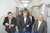محافظ المنيا يكلف وكيل وزارة الصحه متابعة حالة المدرس المصاب لحظياً