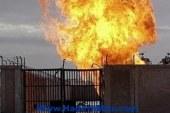 انفجار براميل بمصنع بريما للصناعات الغذائية