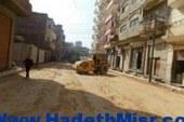 جولات ميدانية لرئيس مجلس مدينة دسوق كفر الشيخ لتفقد رصف الطرق ورفع القمامة من الشوارع