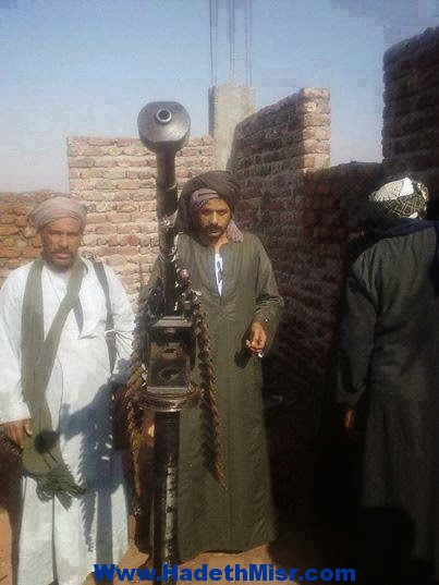 نشطاء يستغيثون بوزير الداخلية ومدير أمن اسيوط عن انتشار الأسلحة الثقيلة بمراكز وقرى اسيوط '' الصعيد قنبلة موقوته ''