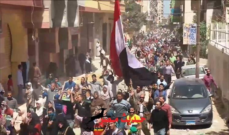 وقفه احتجاجيه اليوم لحزب الاخوان بشبين القناطر