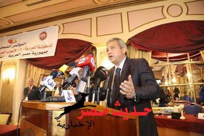 بالصور .. مؤتمر صحفى للاعلان عن تفاصيل البطولة العربية لالعاب القوى