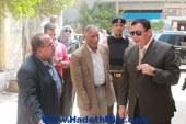 محافظ دمياط يتفقد مستشفي الحميات بمدينة كفر سعد