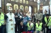مستقبل وطن بدمياط تشارك المسيحيين في الاختفال بعيد القيامة