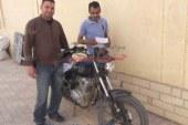 مباحث القصير تعيد دراجة بخارية مبلغ بسرقتها خلال 12 ساعة
